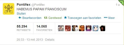 Wat Franciscus bedoelt te zeggen